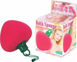 Strawberry Sponge with ms & wp vibrator
