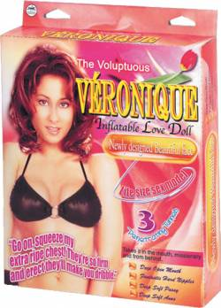 'Veronique' PVC inflatable screening dol