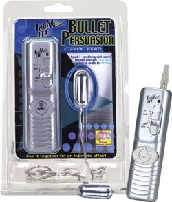 Bullet Persuasion, 3-speed vibr. bullet