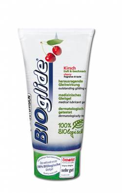 80 ml. Bioglide Lubricant with cherry smell
