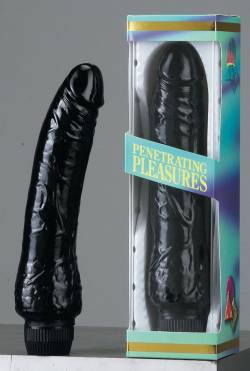 JELLY BLACK VIBRATOR