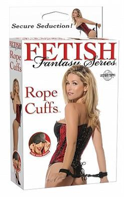 FF ROPE CUFFS BLACK