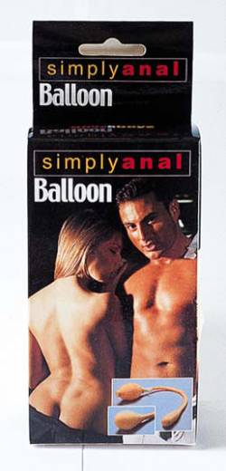 Simply Anal Balloon mit Pumpe haut