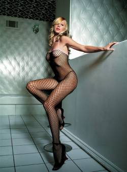 Seamless Industrial Net Bodystocking