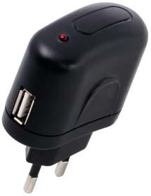 USB-Adapter EU 100-240 V