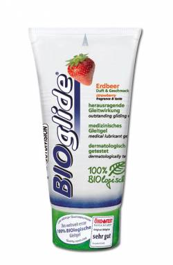 BIOglide Erdbeer (strawberry) 80 ml