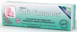 Soft-Tampons normal-trocken (normaly-dry), 3er-Pack