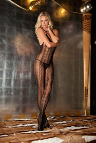 Seductive Lace Bodystocking O/S