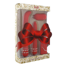 DIAMOND RED GIFTSET VIBR + REMOTE