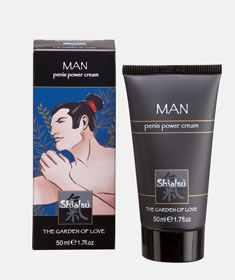 SHIATSU PENIS POWER CREAM 50 ML