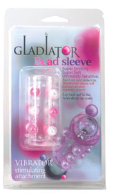 Gladiator Bead Sleeve; transparent